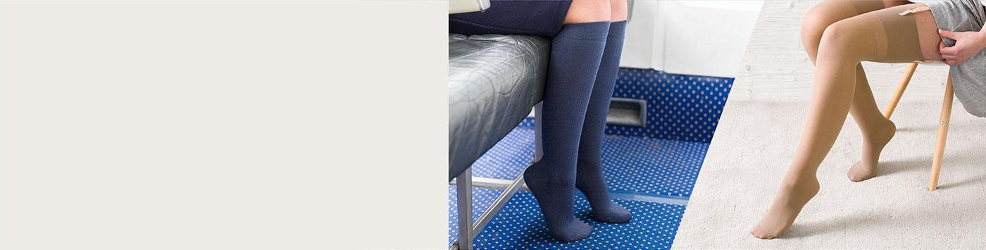 Light Support Hosiery & Compression Socks