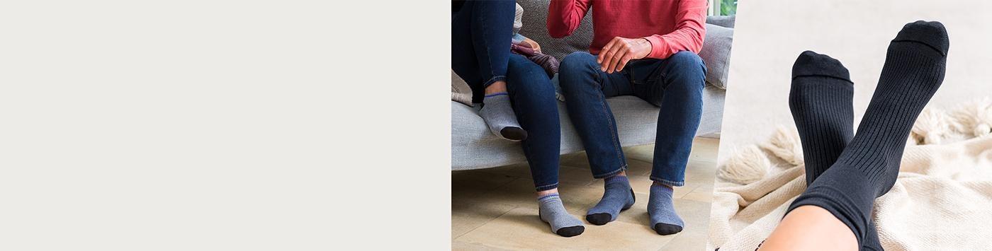 Diabetic-friendly socks