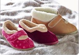 Extra Roomy Slippers