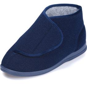 Elise Single Slipper Navy - Left Foot