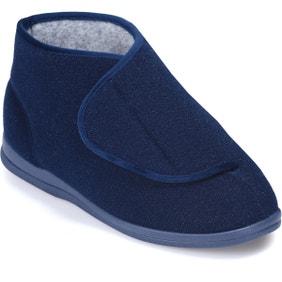 Elise Single Slipper Navy - Right Foot