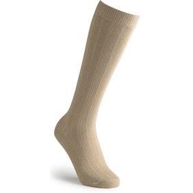 Extra Roomy Cotton‑rich Knee High Socks