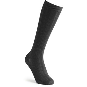 Cotton‑rich Knee High Socks