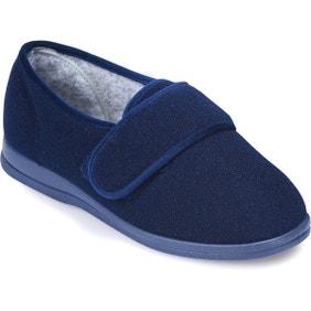 Holly Single Slipper Navy - Right Foot