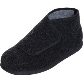 Robbie Single Slipper Charcoal - Left Foot