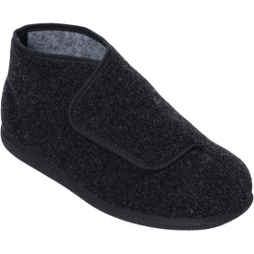 Robbie Single Slipper Charcoal - Right Foot