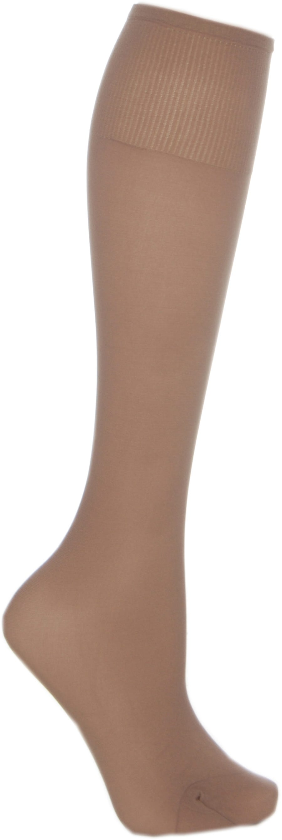 Cosyfeet Extra Roomy Softhold Light Support Knee Highs