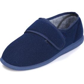Richie Single Slipper Navy - Left Foot