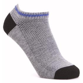 Extra Roomy Coolmax® Seam‑free Trainer Socks