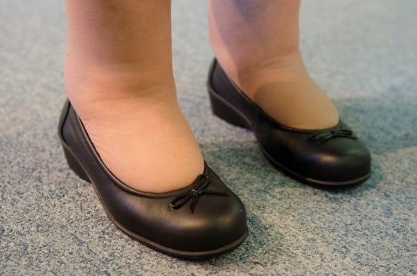 Ellie on the foot