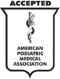 American Podiatric Medical Association Approved