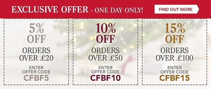 Exclusive offer - One day only - Terms apply*