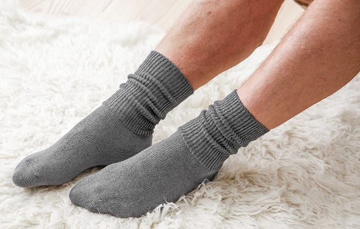 Diabetic friendly socks