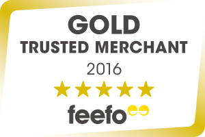 Cosyfeet is awarded 'Gold Trusted Merchant Accreditation' by Feefo