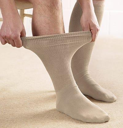 Fuller Fitting Sock