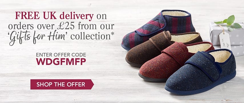 Free delivery on our Gifts for Him collection!