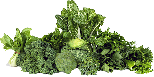 Eat green leafy vegetables to keep nails strong