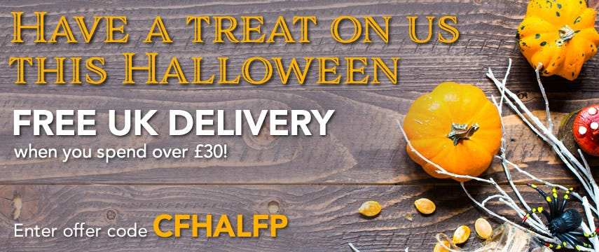 Spend £30 or more on any item/s and get FREE UK delivery saving you £4.99! Take advantage of this great offer TODAY.