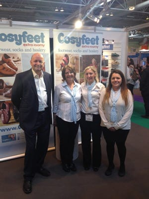 The Cosyfeet team!