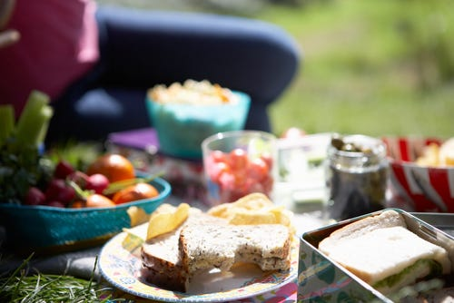 Enjoy eating outside - National Picnic week