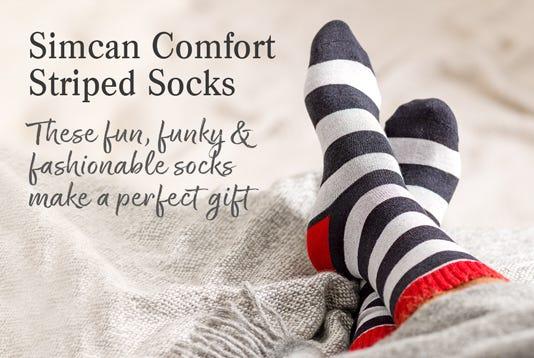 Simcan Comfort Striped Socks