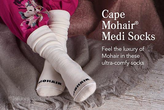 Cape Mohair® Medi Socks