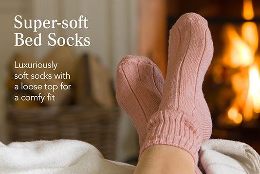 Super-soft Bed Socks
