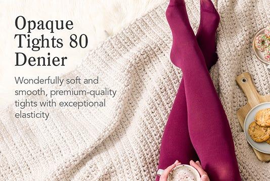 Opaque Tights 80 Denier