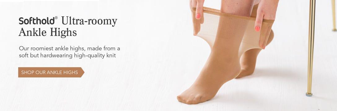 Ultra-roomy Ankle Highs