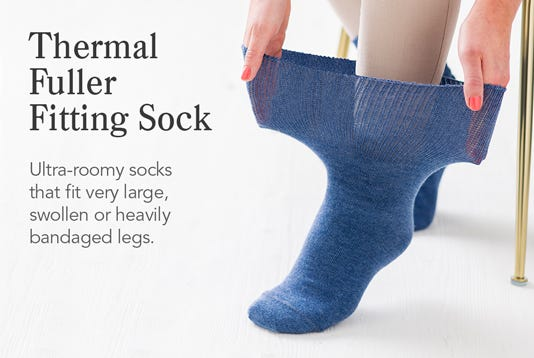 Thermal Fuller Fitting Socks