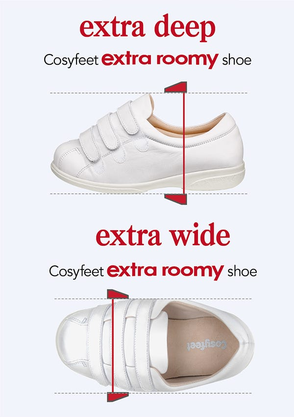 5651cbf236a2 What is the difference between wide fitting shoes and Cosyfeet ...