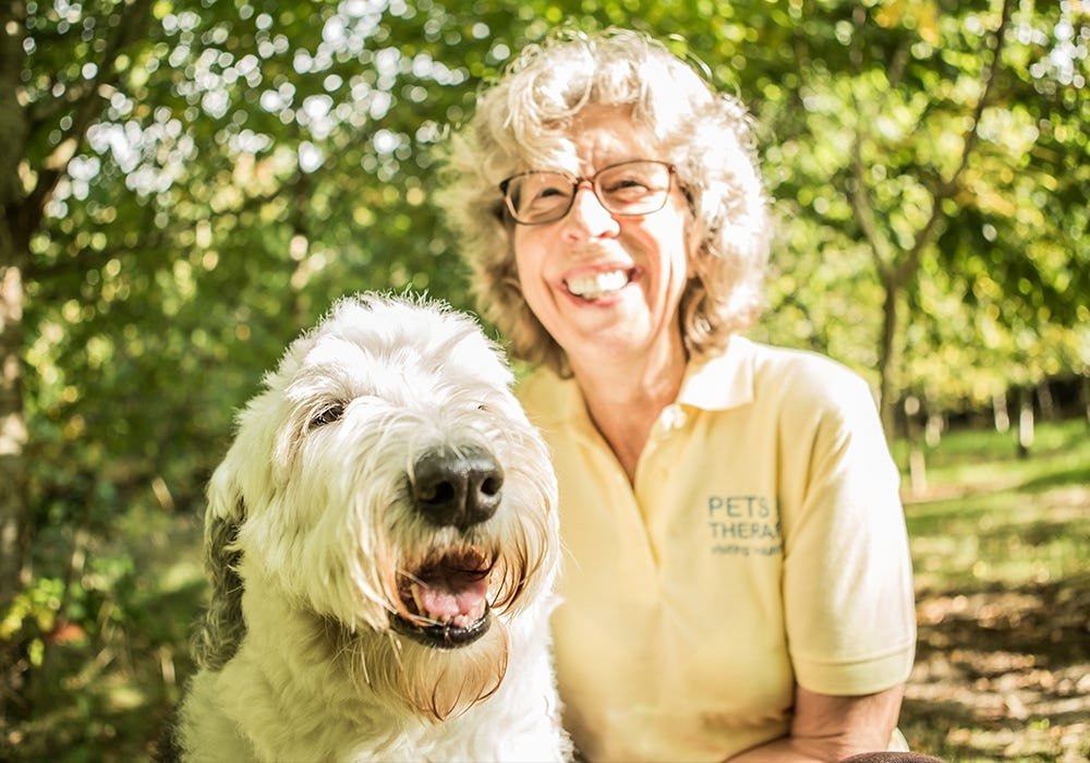 Pets as Therapy - Carole and Millie