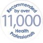 Recommended by 11,000 Health Professionals