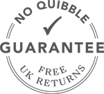 No quibble money back guarantee