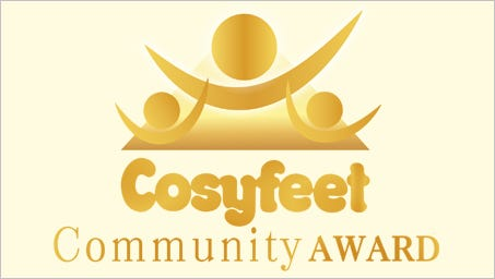 Cosyfeet Community Award