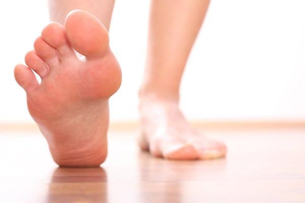 Wider feet