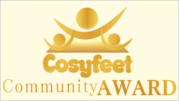 The Cosyfeet Community Award