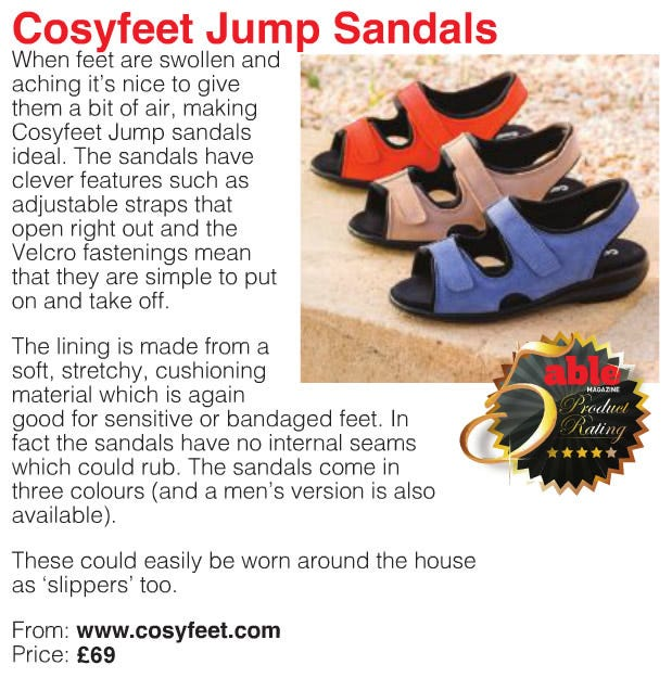 Jump sandal review