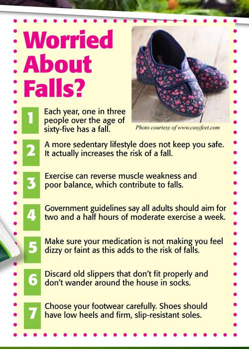 Worried About Falls?