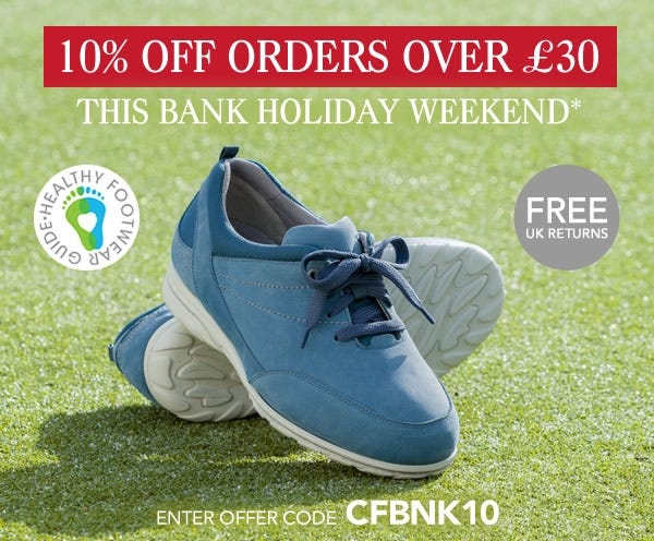 10% off £30 - Bank Holiday