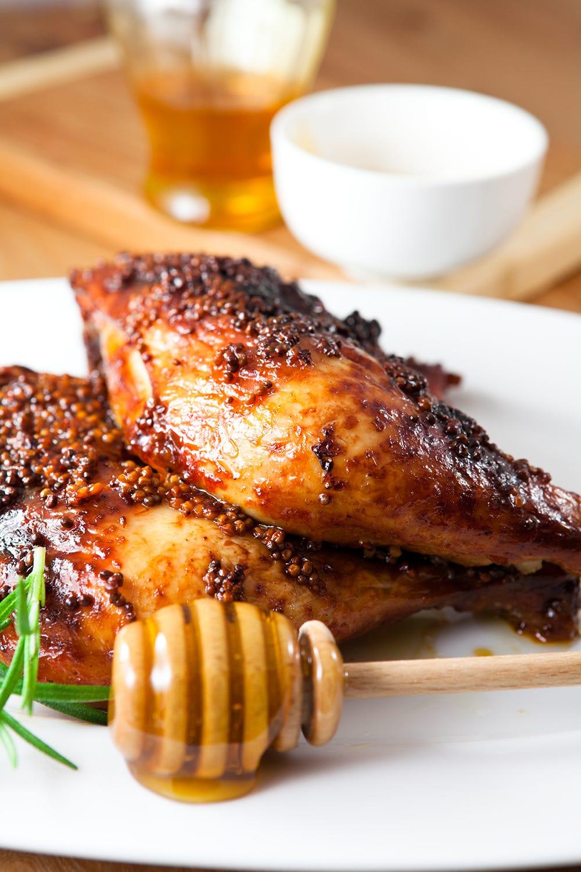 Honey and Mustard Grilled Chicken