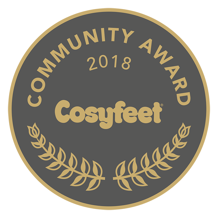 Cosyfeet Community Award 2018