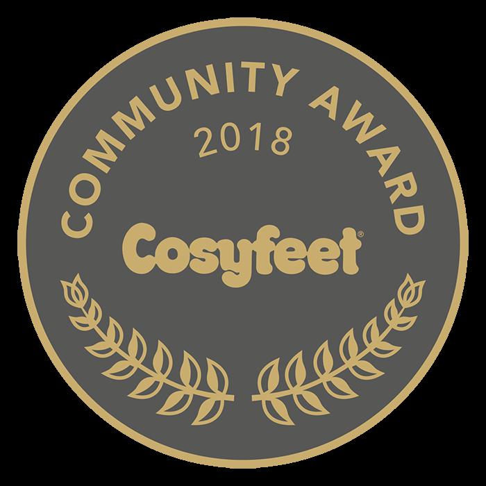 Cosyfeet Community Award 2018