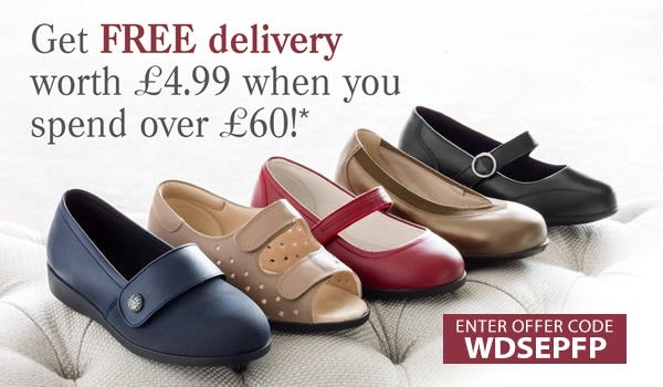 Free delivery on orders over £60
