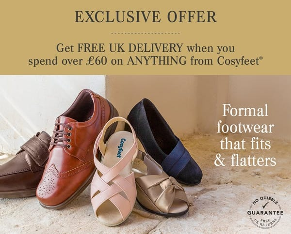 Free UK delivery on orders over £60