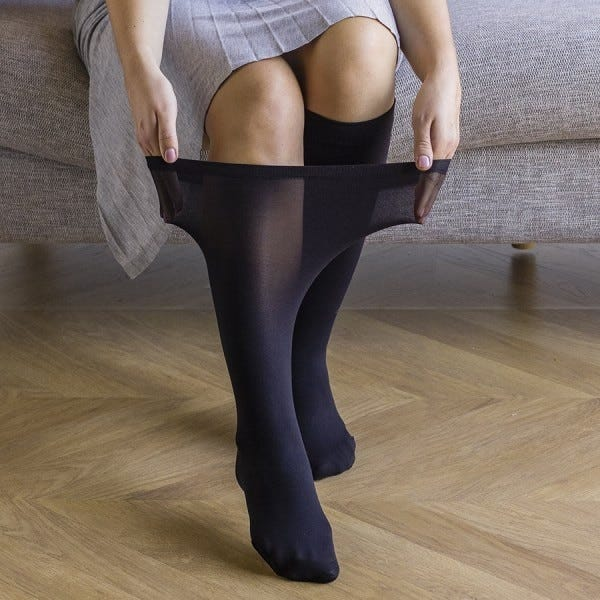 Ultra Roomy Knee Highs