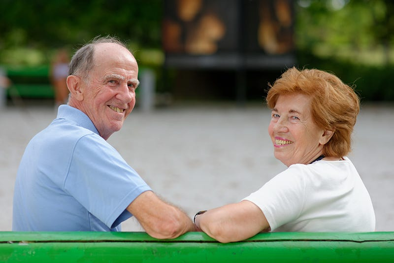 Happiness peaks in older age