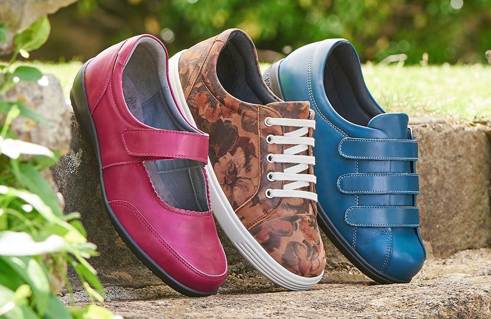 Women's footwear for autumn