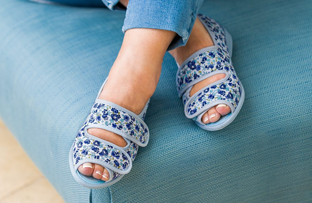 Millie in Blue/Lilac Floral