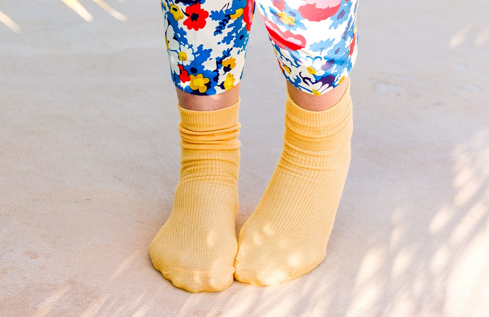 Cotton-rich Softhold® Socks in Maize